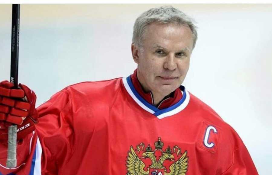 Андрей Воробьев сыграл вматче, посвященном юбилею хоккеиста Вячеслава Фетисова