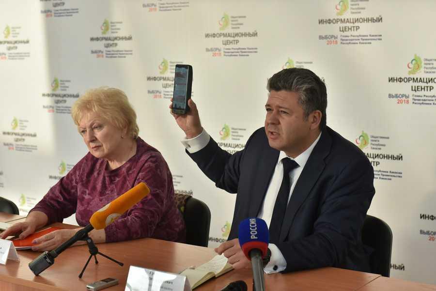 Общественная палата Хакасии провела брифинг по нарушениям на выборах