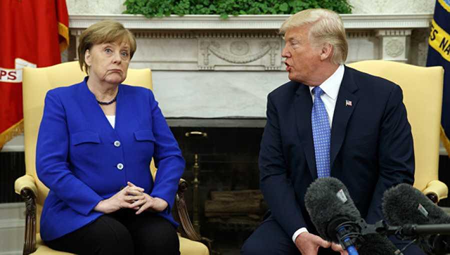 Макрон, Меркель иМэй сообщили оготовности ответить напошлины США