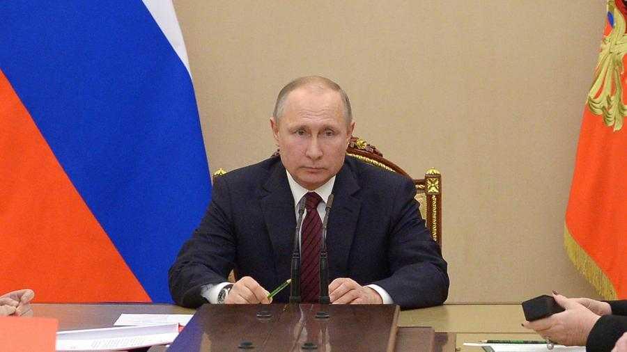Путин: письмо Федсобранию— абсолютно точный иконкретный план действий