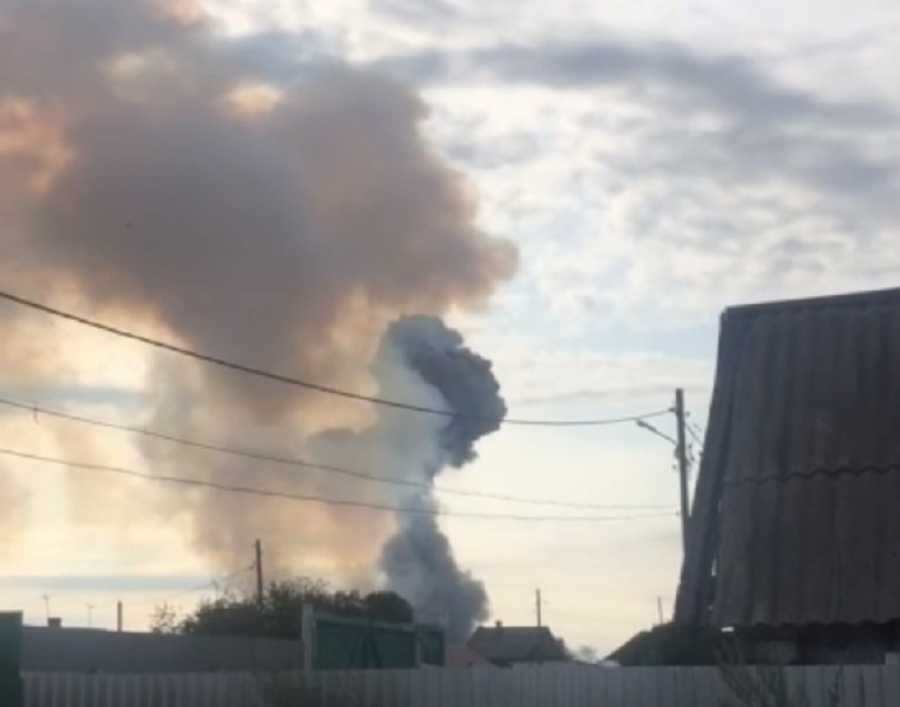 Из-за взрыва под Ачинском объявлена эвакуация врадиусе 20км