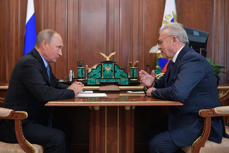 Стала известна дата визита В.Путина вКрасноярск